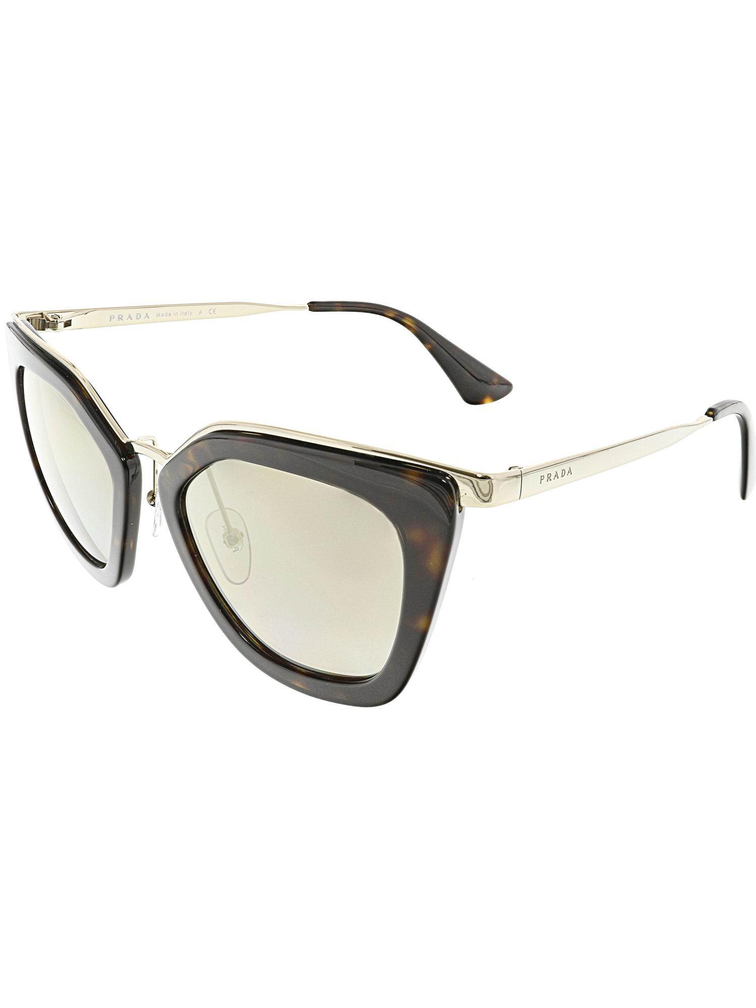 11410885aa882 Prada - Women s Gradient Pr53ss-2au6o0-52 Brown Butterfly Sunglasses - Lyst.  View fullscreen