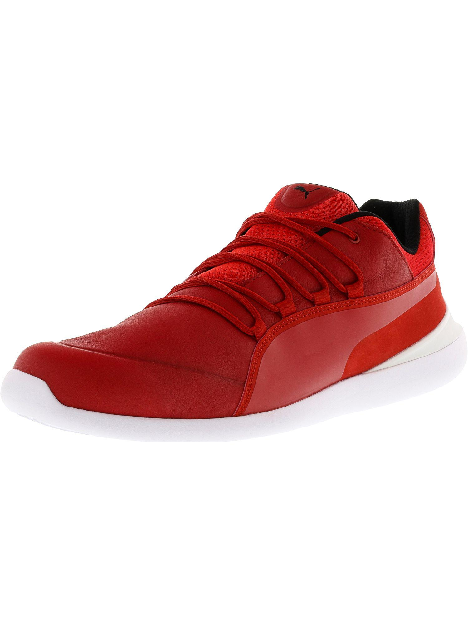 96a2fcb21cd Lyst - Puma Men's Ferrari Evo Cat Ankle-high Fashion Sneaker in Red ...