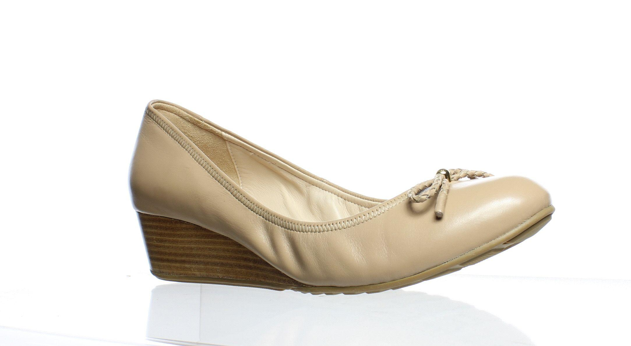 239390b14ee Lyst - Cole Haan Womens Tali Grand Lac Maple Sugar Pumps in Natural
