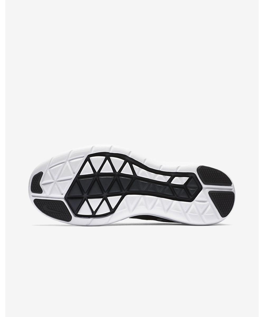 3229fde6ea83 Nike. Black Womens Flex 2017 Rn Fabric Low Top Lace Up Running Sneaker