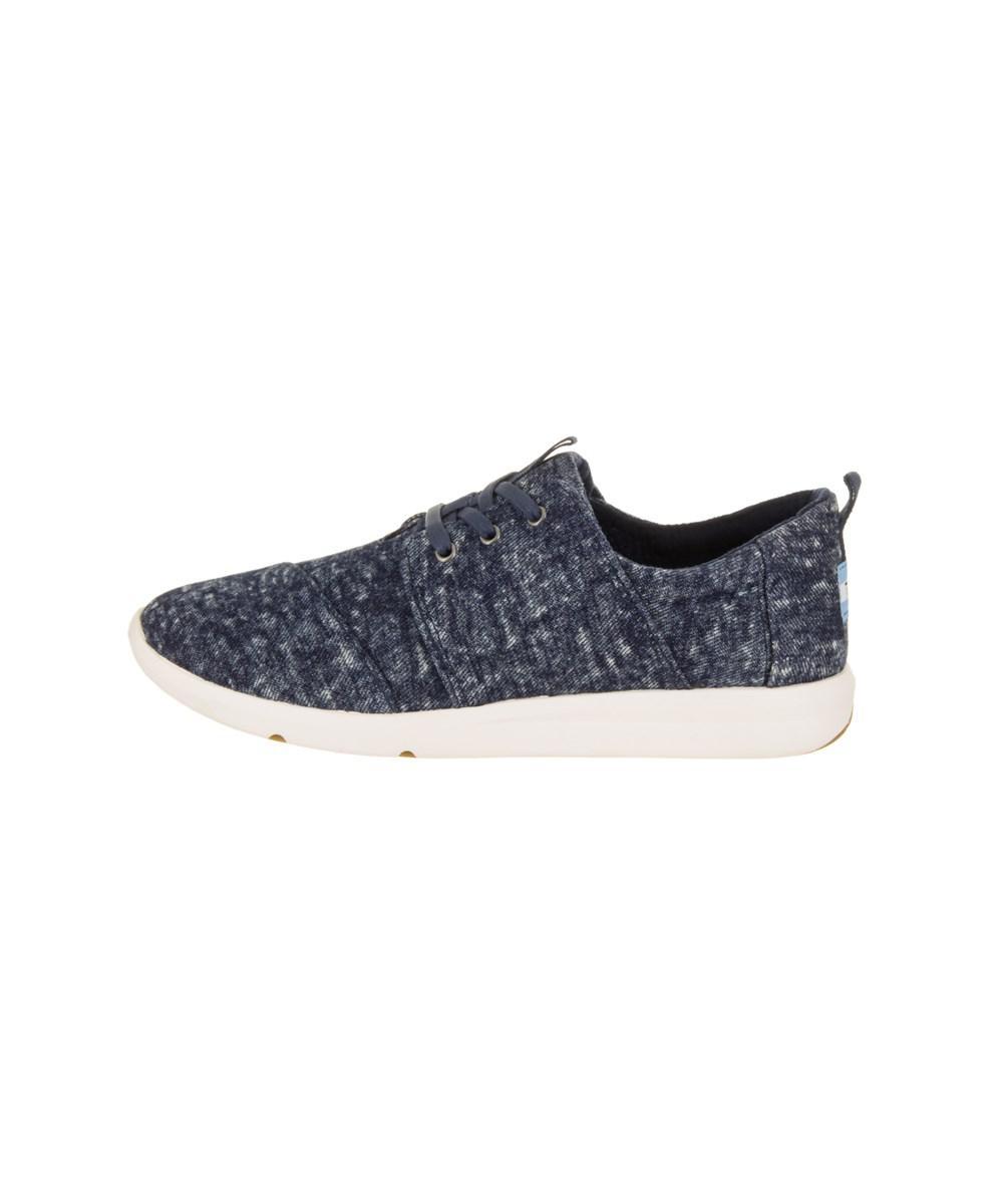 a3cf080fa38 Lyst - Toms Women s Del Rey Denim Casual Shoe in Blue