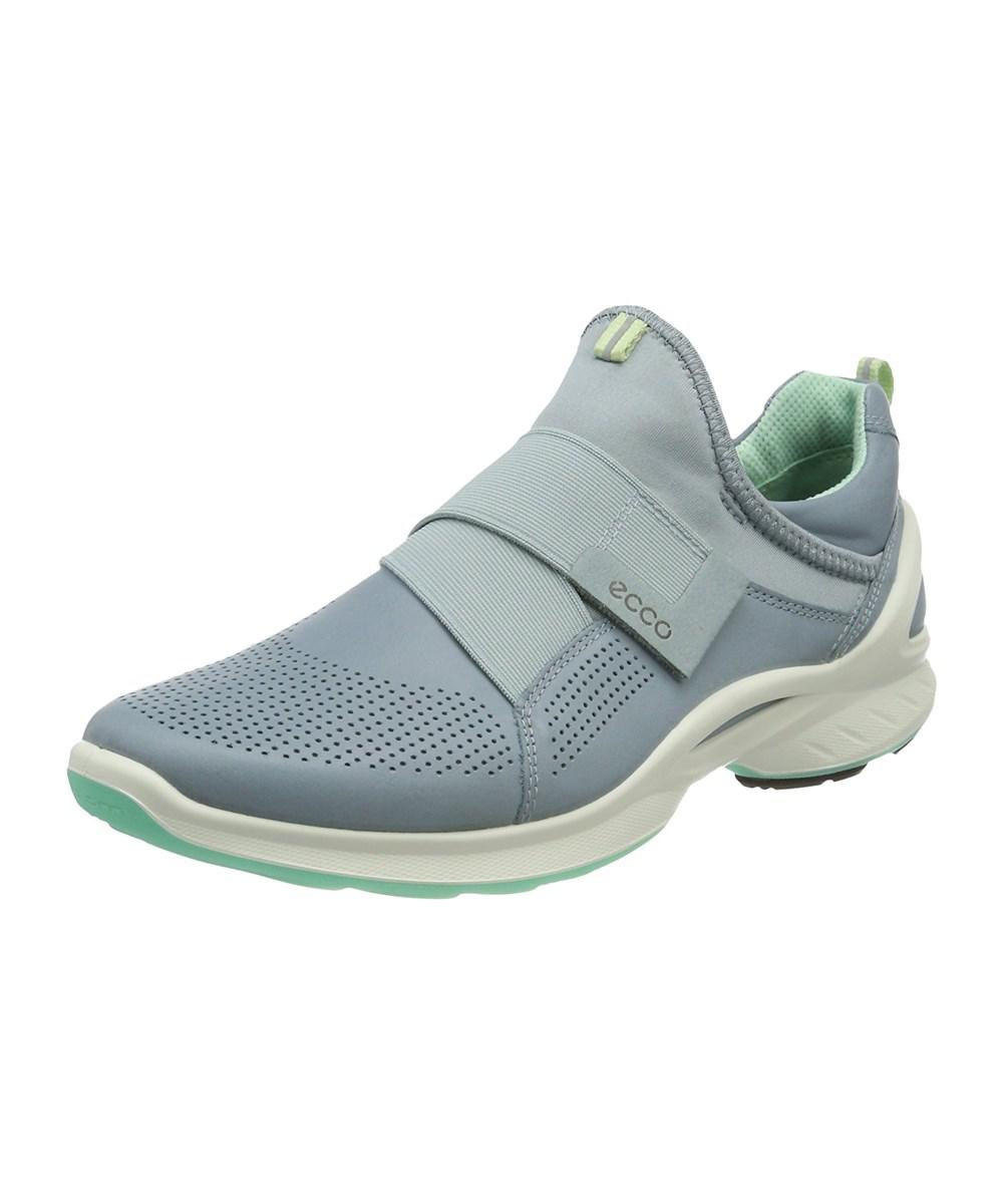 6fc261d287b750 Lyst - Ecco Womens Biom Fjuel Fabric Low Top Pull On Walking Shoes ...