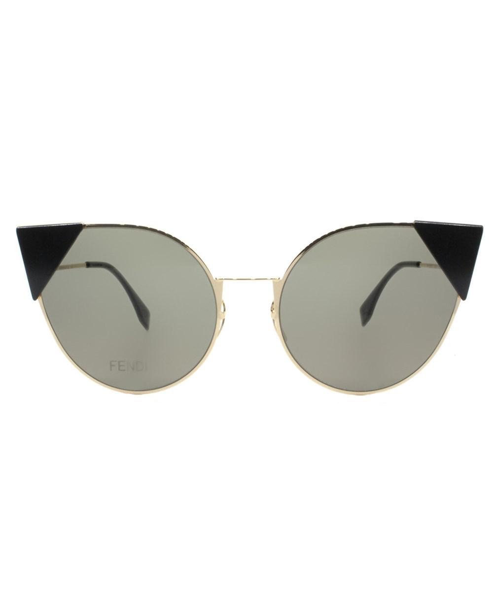 9311585fb6 Lyst - Fendi Ff 0190 000 2m Rose Gold Lei Cat-eye Sunglasses in Pink