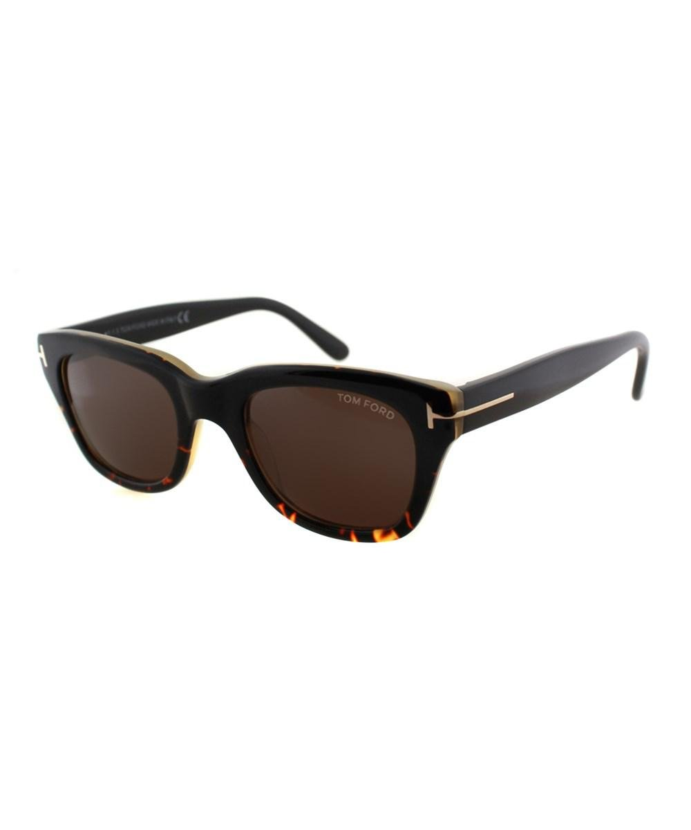 6932a1b0135 Tom Ford - Black Snowdon Square Plastic Sunglasses - Lyst. View fullscreen