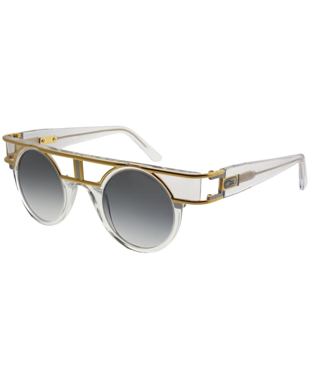 a25ab6830821 Lyst - Cazal Limited Edition 002 002sg Crystal-gold Round Sunglasses ...