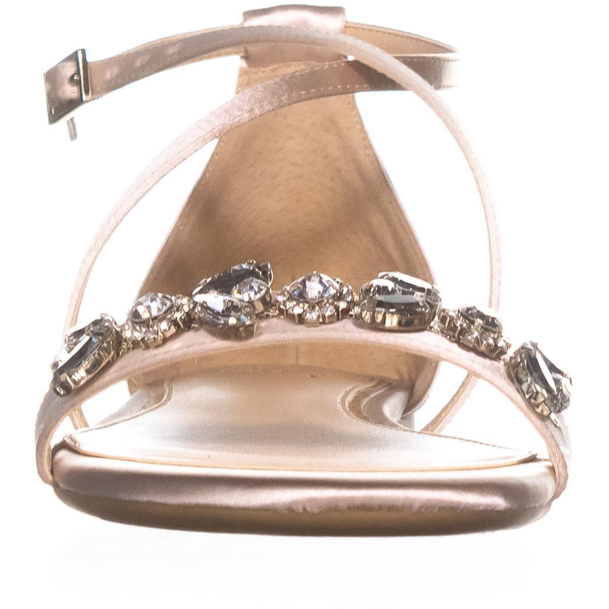 fd21e228b Lyst - Badgley Mischka Jewel By Tessy Rhinestone Sandals
