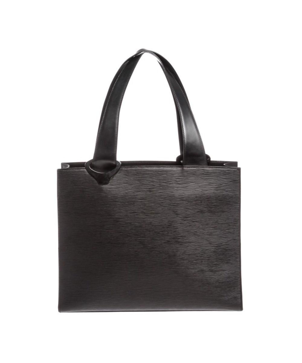 Pre-owned - Black Leather Handbag Louis Vuitton VZKGDUokD