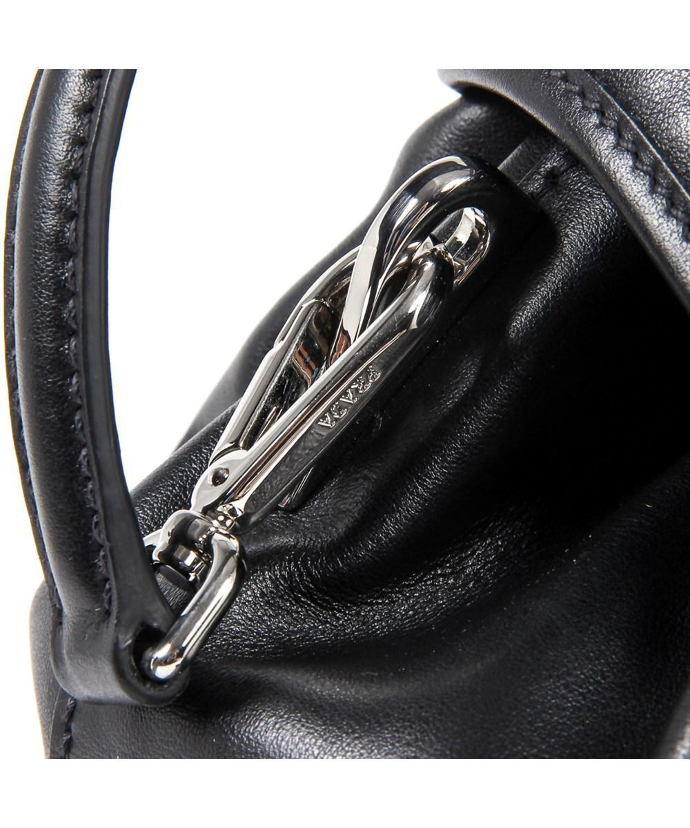 40c142d7dd88 Lyst - Prada Womens Handbag Soft Calf Nero in Black