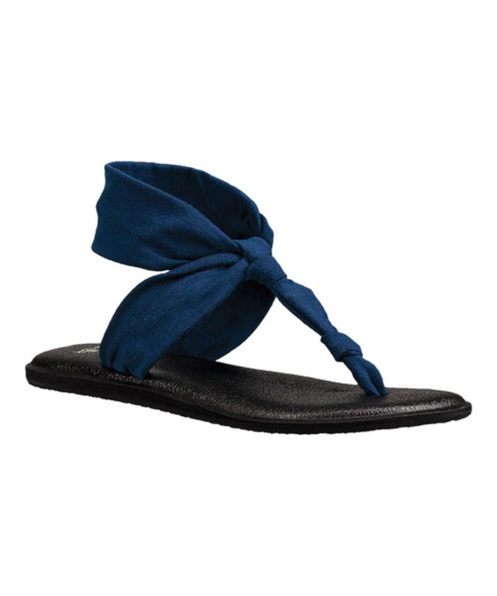 55c004931c2903 Lyst - Sanuk Women s Yoga Sling Ella Sandal in Blue