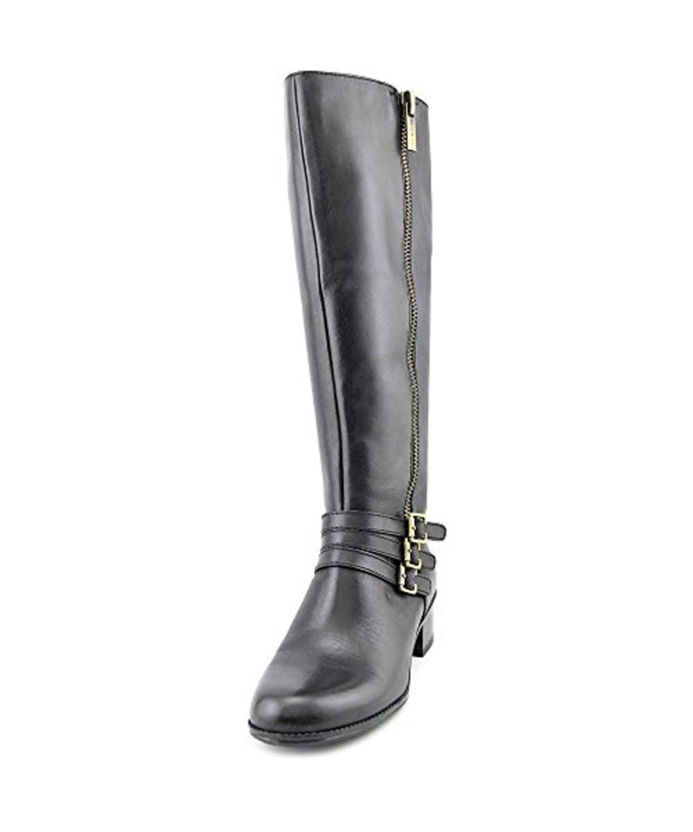 ab8d1737094b Lyst - Bandolino Carsononia Leather Knee High Boot in Black