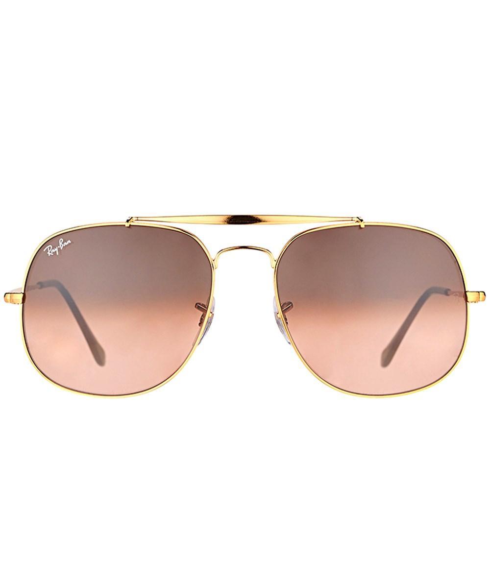 b84eedb05e736 Ray-Ban Rb3561 9001a5 General Light Bronze Aviator Sunglasses - Lyst