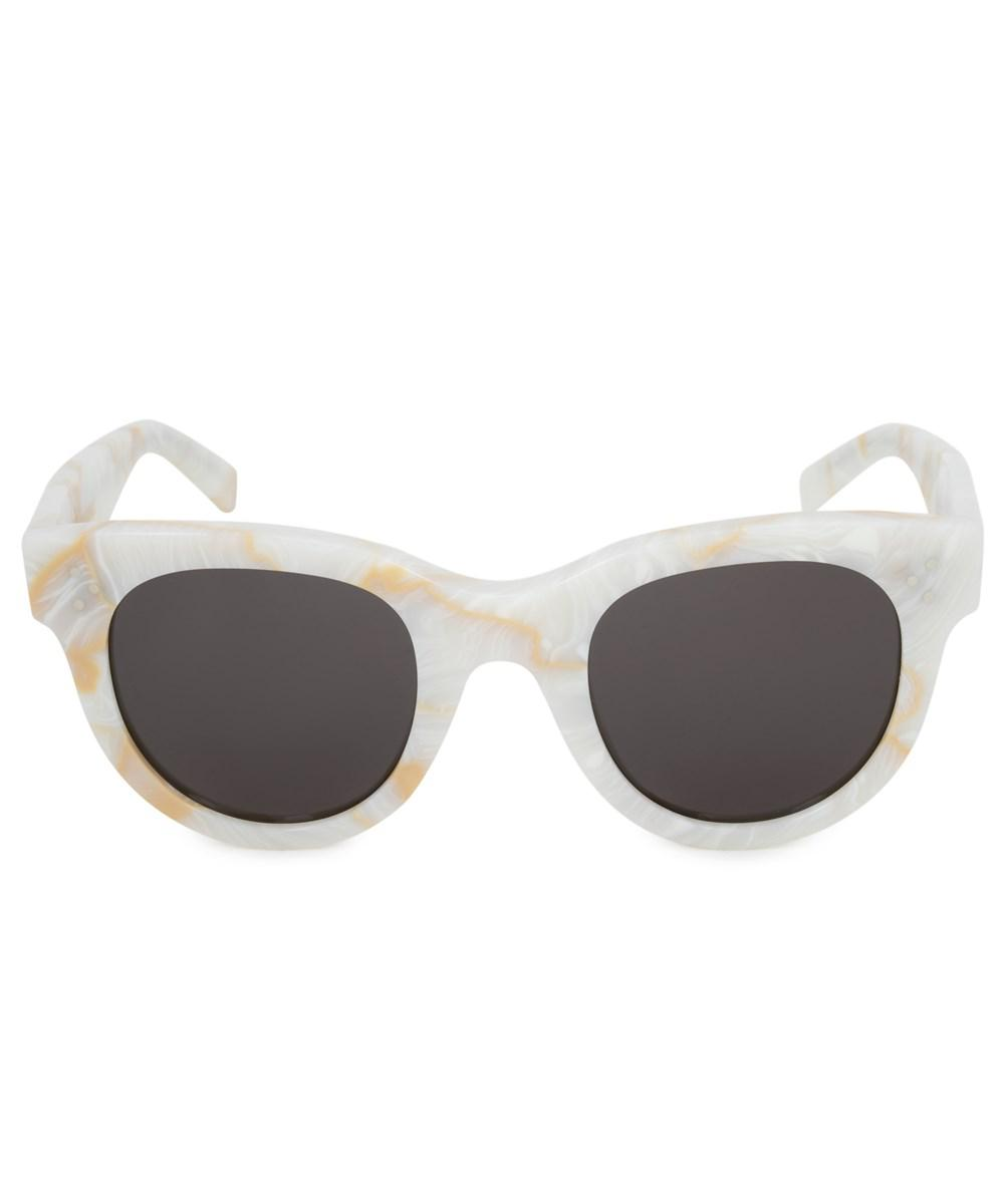 3a35aadf81 Céline Baby Audrey Cat Eye Sunglasses 41053 s 21j nr 47 in White - Lyst