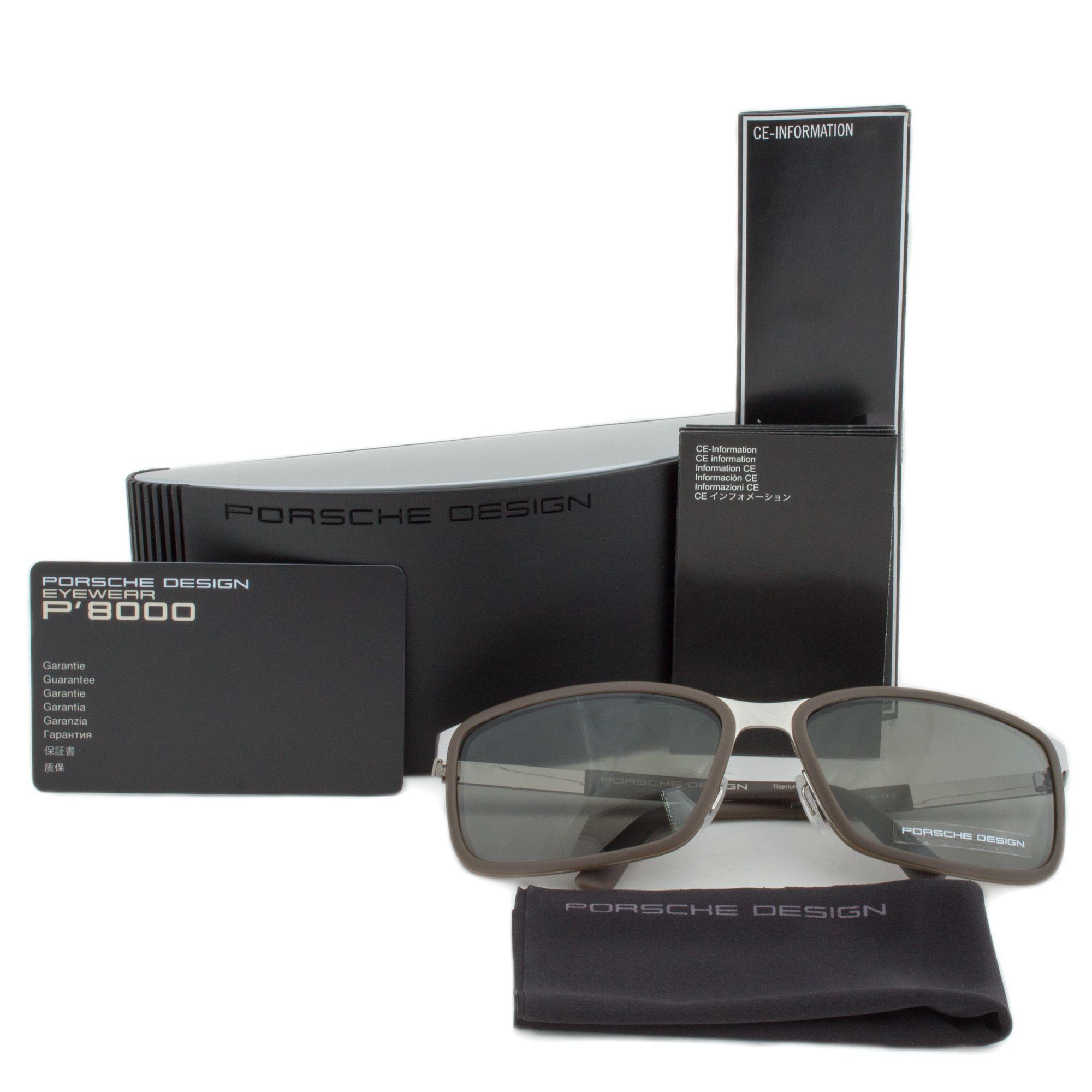 3f43ea9dc0 Lyst - Porsche Design Design P8552 D Rectangular Sunglasses