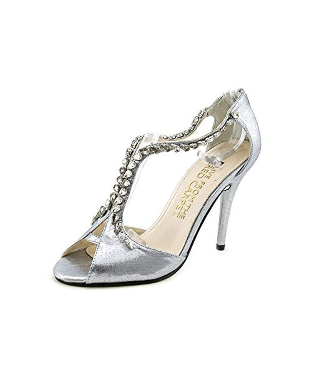 12a72eee68fc Lyst - E! Live From The Red Carpet Women s Nadine Silver Lame D ...