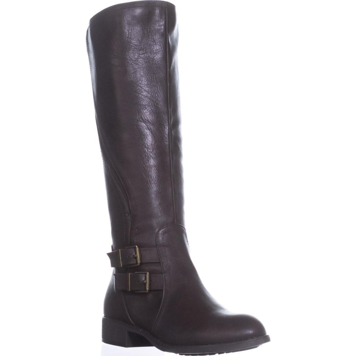 722702475f6b Lyst - Style   Co. Sc35 Milah Zip-up Riding Boots