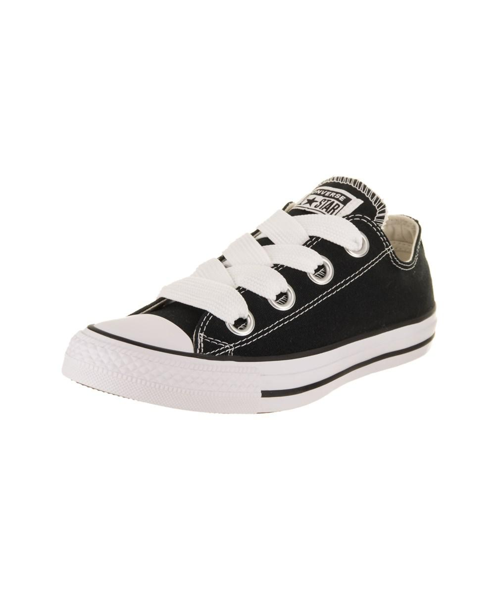 e8715f3a7a87 Lyst - Converse Women s Chuck Taylor All Star Big Eyelets Ox Casual ...