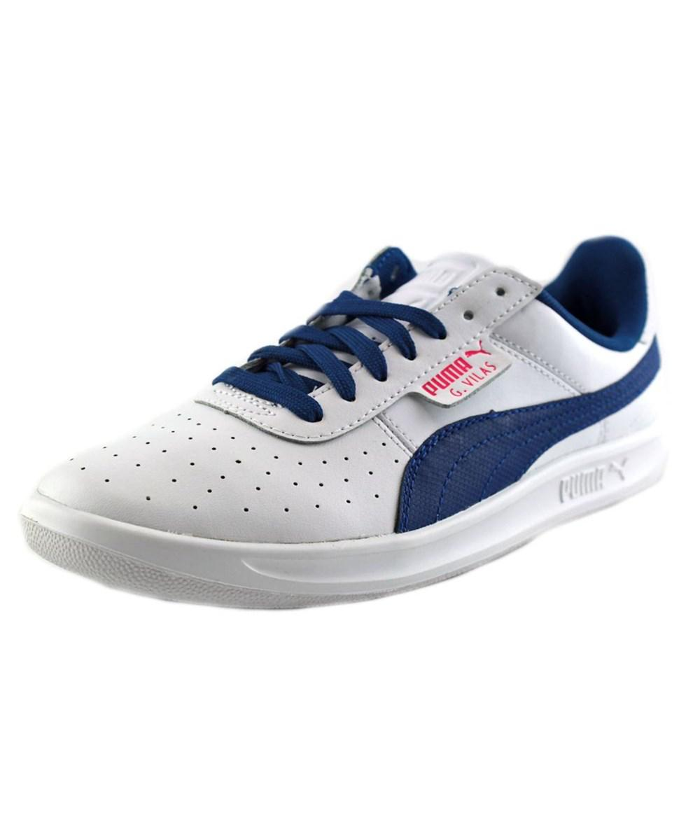 367175f5123a71 Lyst - Puma G. Vilas 2 Men Round Toe Leather Sneakers in White for Men