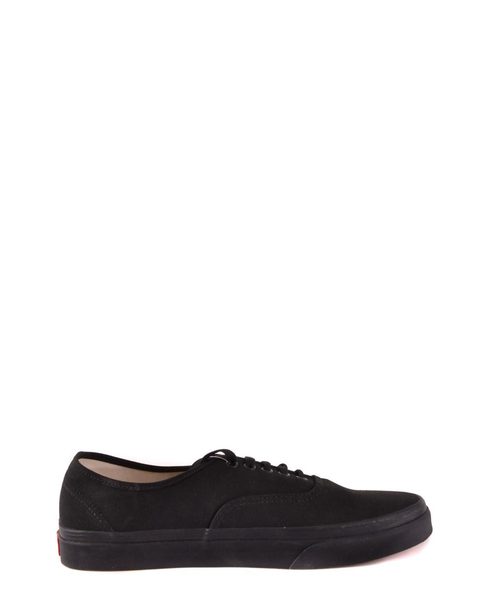 6921249002fd38 Lyst - Vans Men s Black Fabric Sneakers in Black for Men