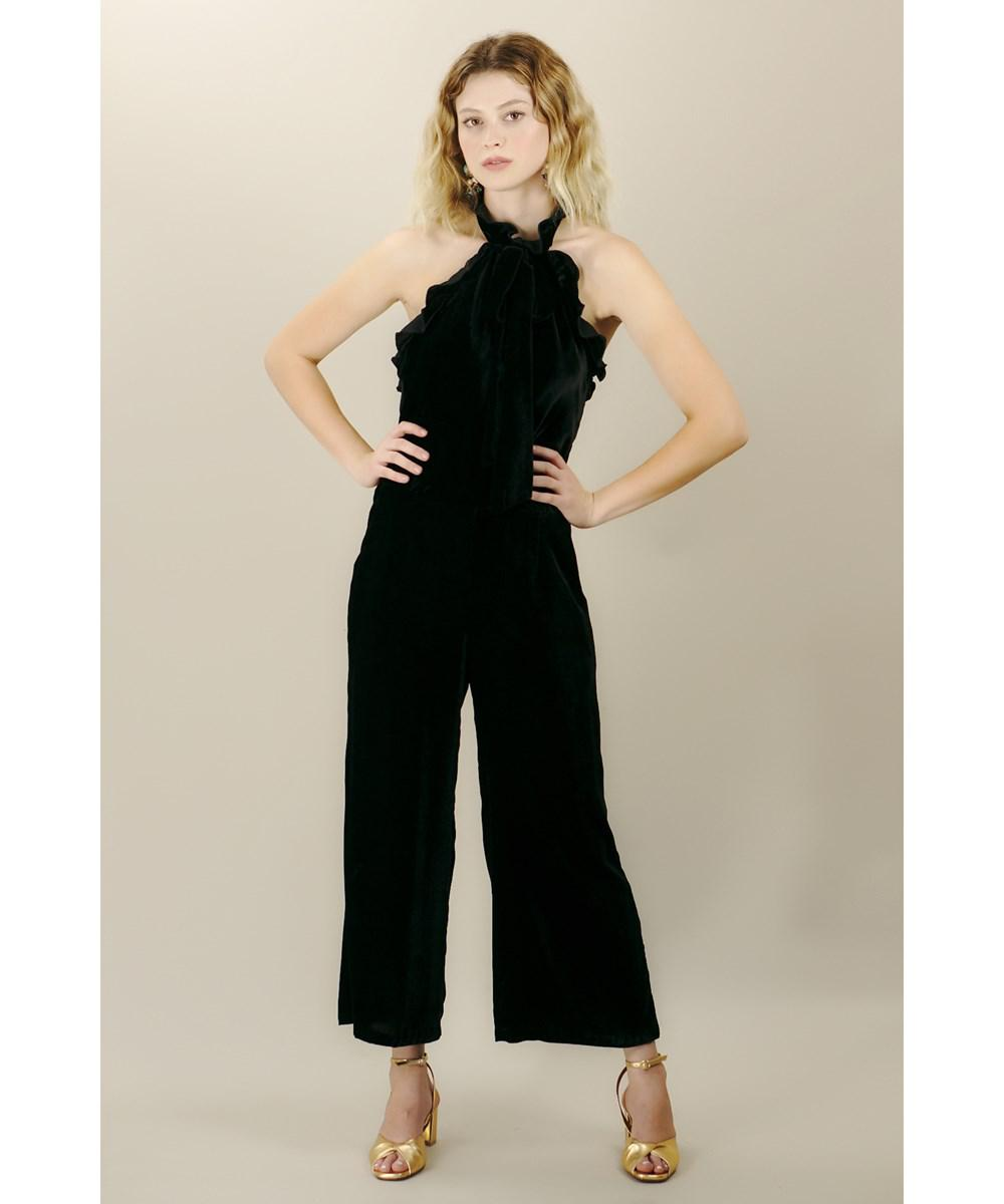 06e3bccd2f5 Lyst - Kristinit Arabesque Jumpsuit in Black
