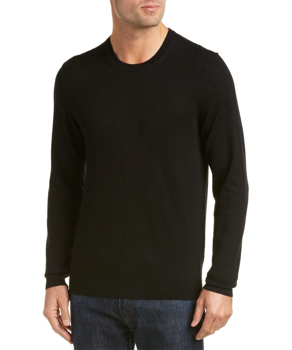 Burberry Richmond Check Trim Cashmere & Cotton-blend Sweater in ...