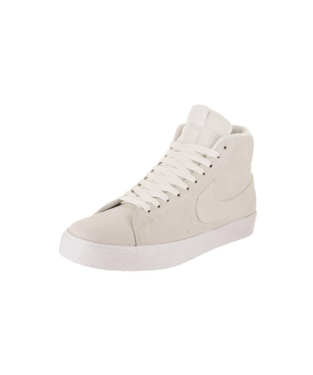 new concept c69aa 97970 Nike. White Men s Sb Zoom Blazer Mid Decon Skate Shoe