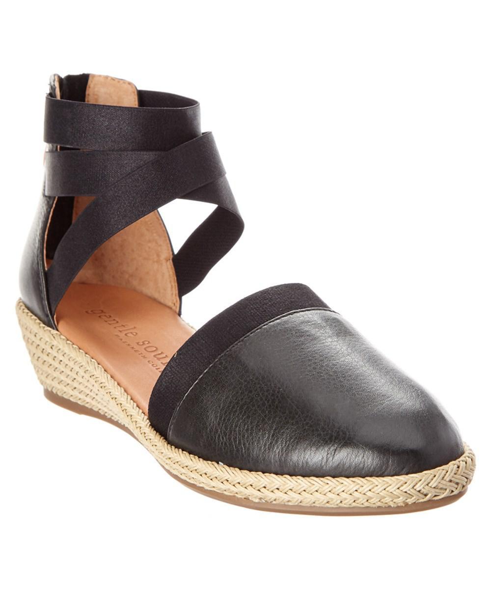 Noa-Beth Leather Flat - Shoe Gentle Souls s33rMN