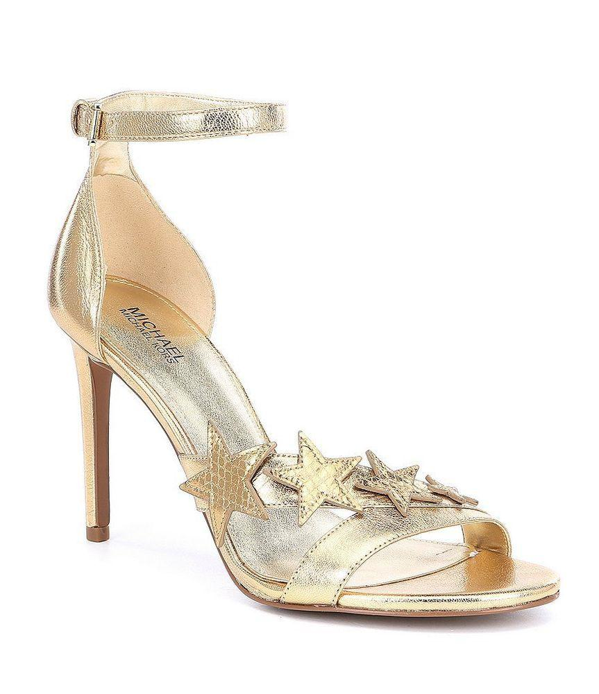 02cb650ec38 Kors by Michael Kors. Metallic Kors By Michael Kors Womens Lexie Open Toe  Special Occasion ...
