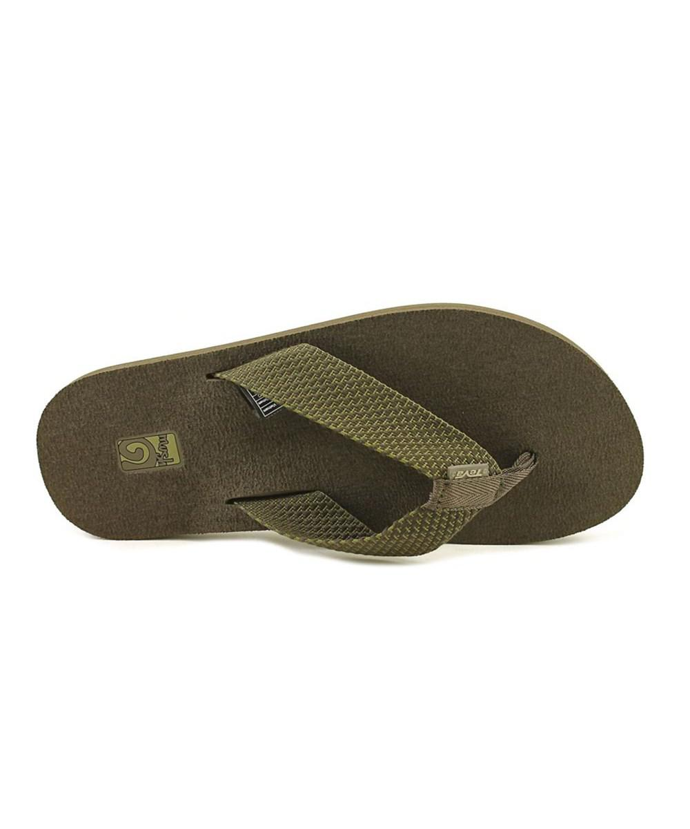 399ff422232e Lyst - Teva Mush Ii Men Open Toe Synthetic Flip Flop Sandal in Green ...