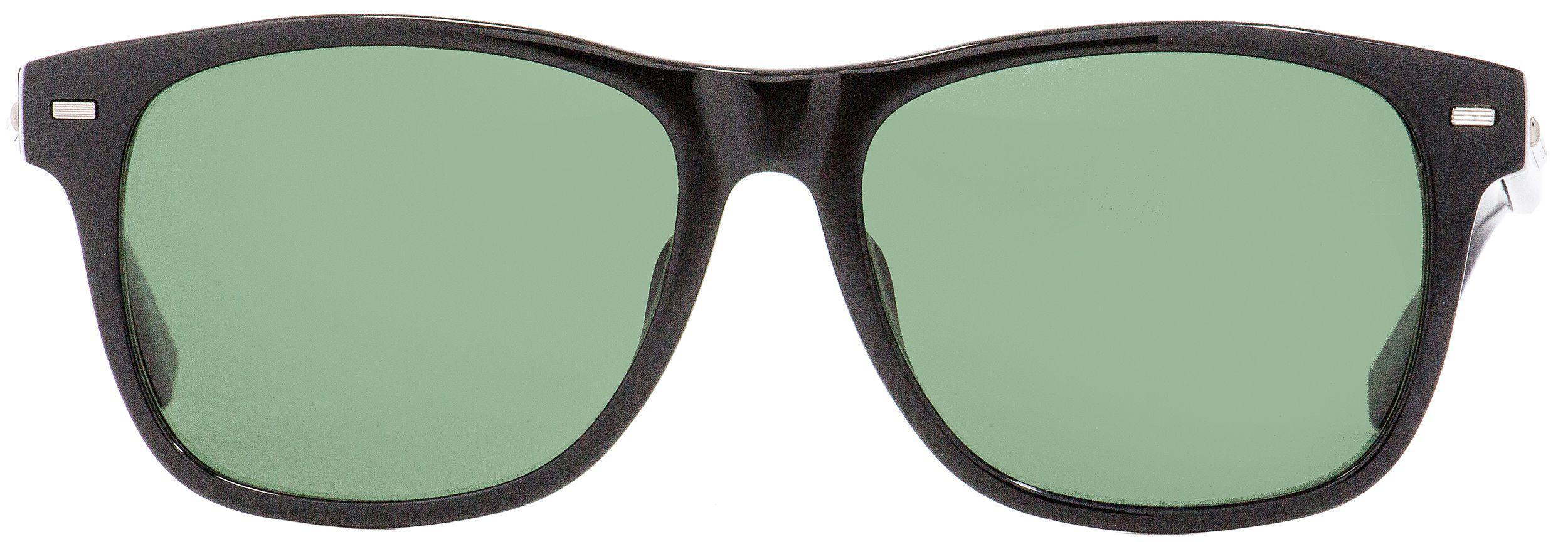 e4c00f8cbd Lyst - Ermenegildo Zegna Rectangular Sunglasses Ez0020 01r Shiny ...