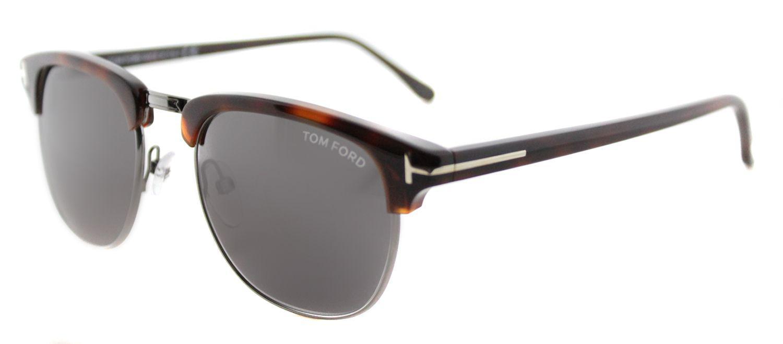 bf3460407a Tom Ford - Multicolor Henry Tf 248 52a 53mm Dark Havana Fashion Sunglasses  - Lyst. View fullscreen