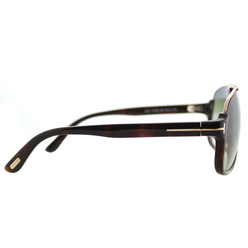 9f0ce80b7db7 Lyst - Tom Ford Eliott Tf 335 56k Havana Aviator Sunglasses