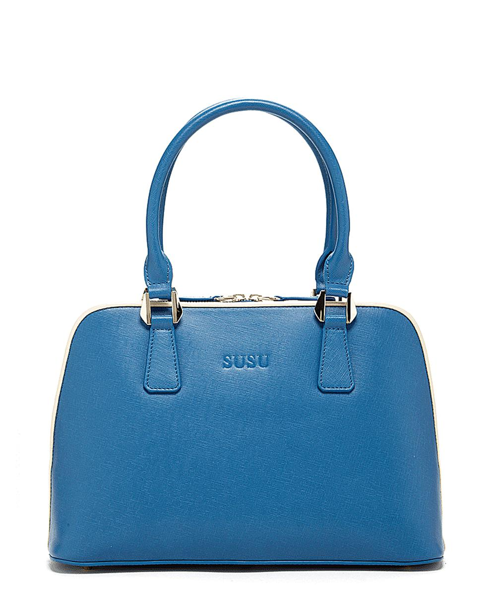 Lyst - Susu Melissa Leather Dome Satchel Top Handle Bag For Women in ... a0b30e406319c