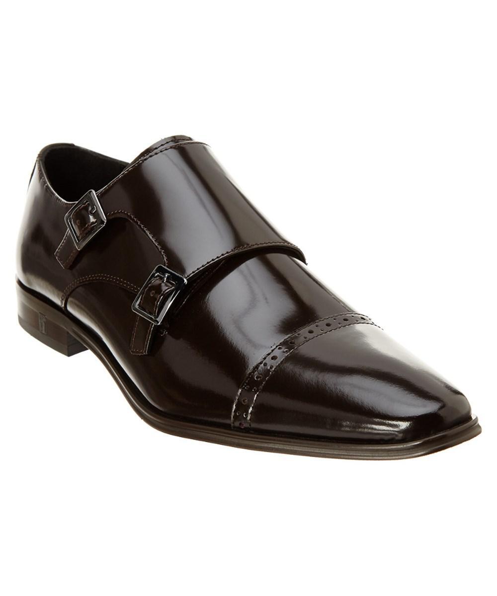 e0ba5519a4d Lyst - Versace Versace Collection Double Monkstrap Leather Shoe in ...