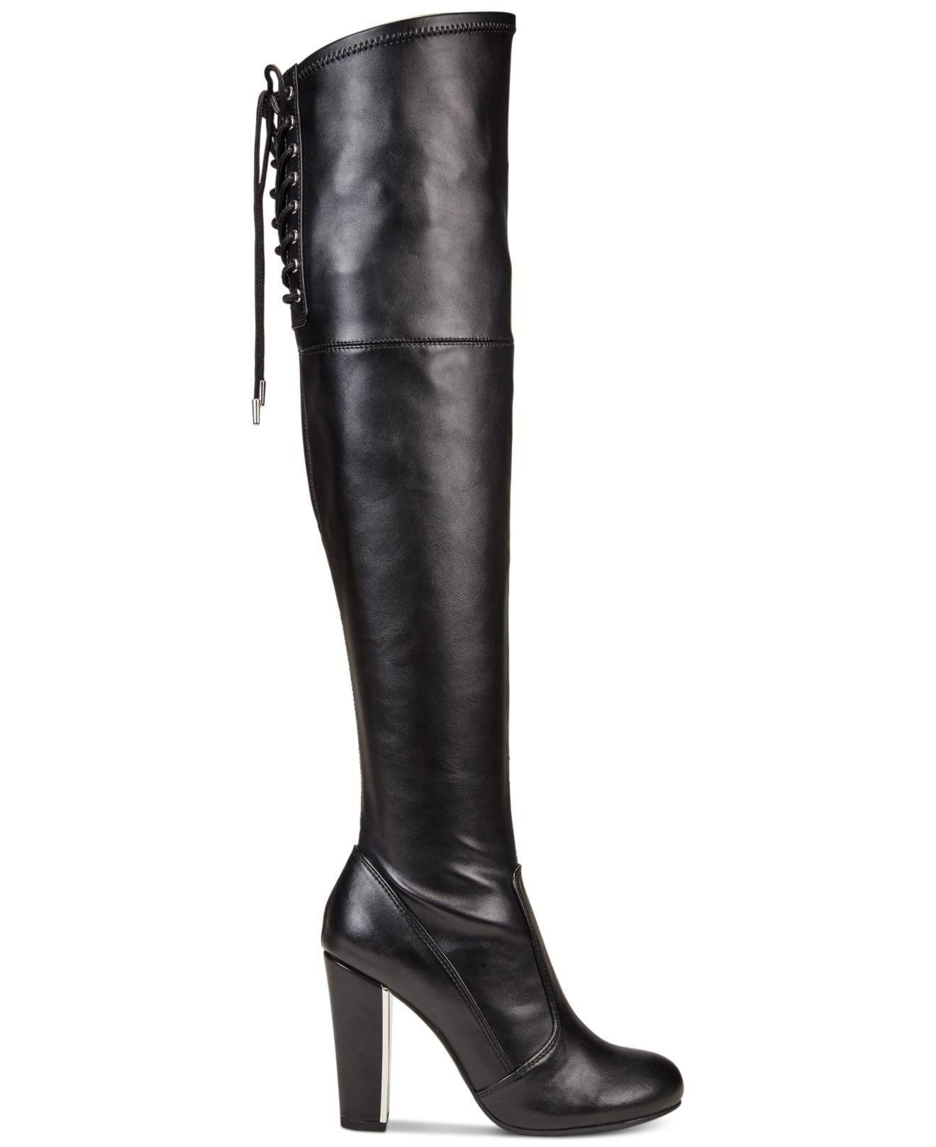 b01fef2cdd510 Lyst - Material Girl Womens Mpriyankap Closed Toe Knee High Fashion ...