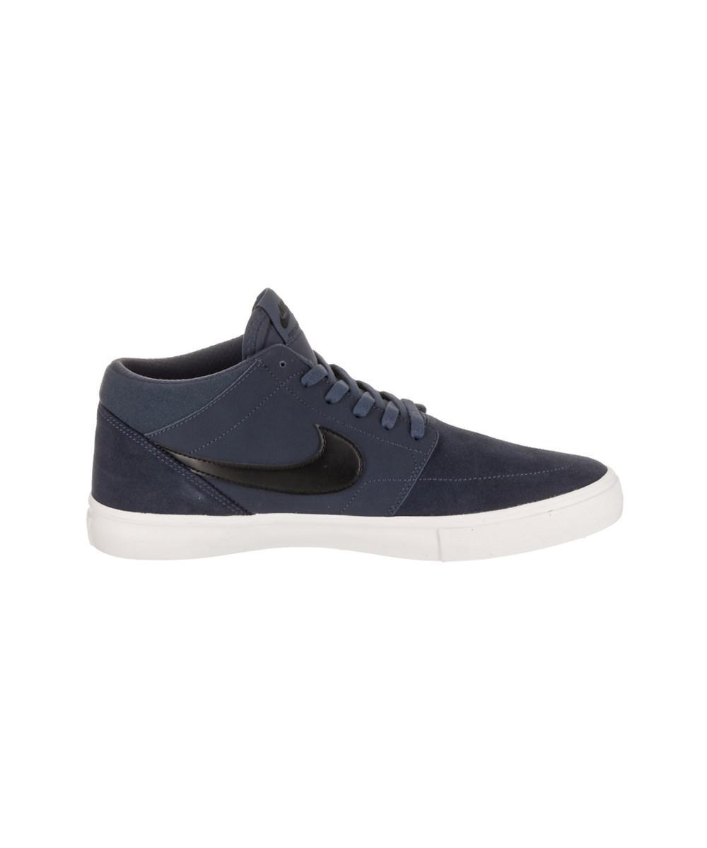 5bee716ffd82 Nike Men s Sb Portmore Ii Solar Mid Skate Shoe in Blue for Men - Lyst