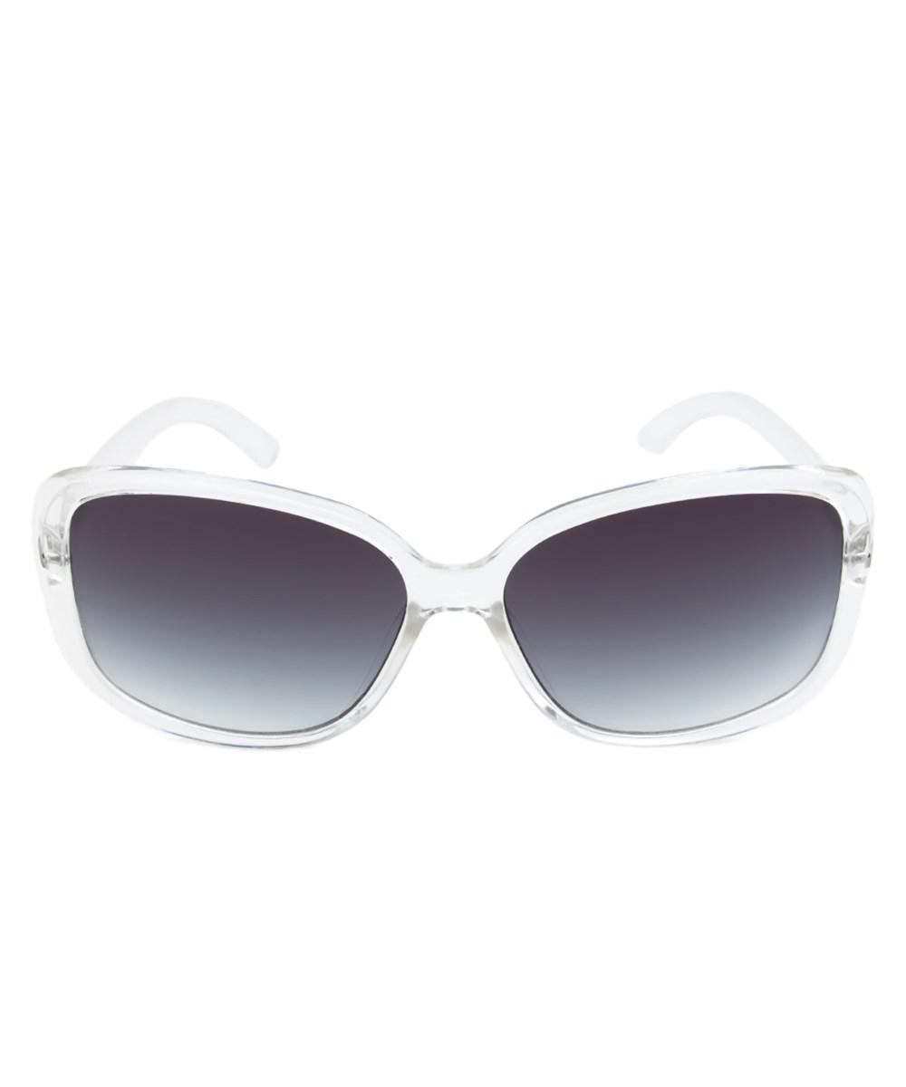 b77ec3747ca26 Calvin Klein. Women s R673s 971 White Translucent Square Sunglasses ...
