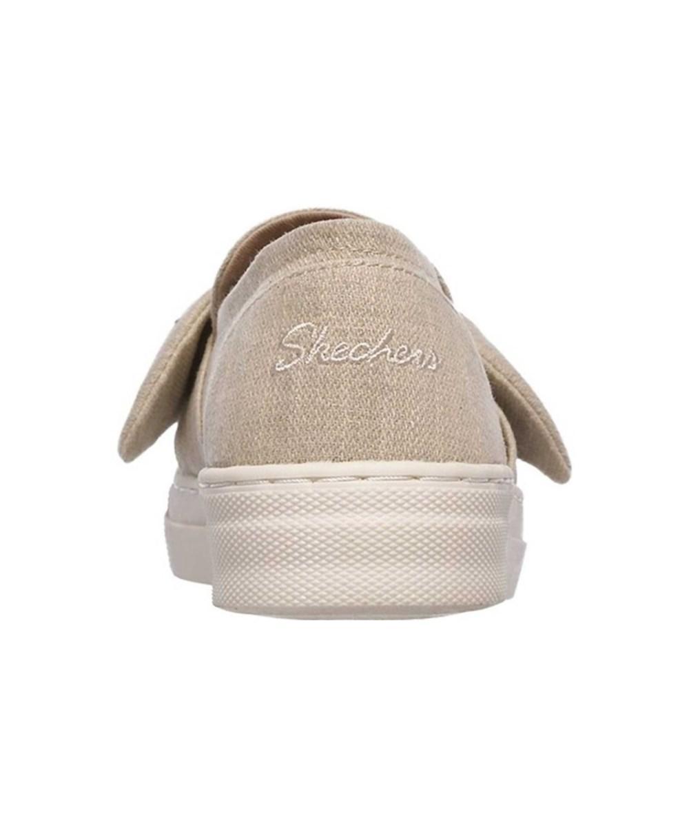 f3b42a3cf643 Lyst - Skechers Women s Vapor Bow Time Slip-on Sneaker in Natural