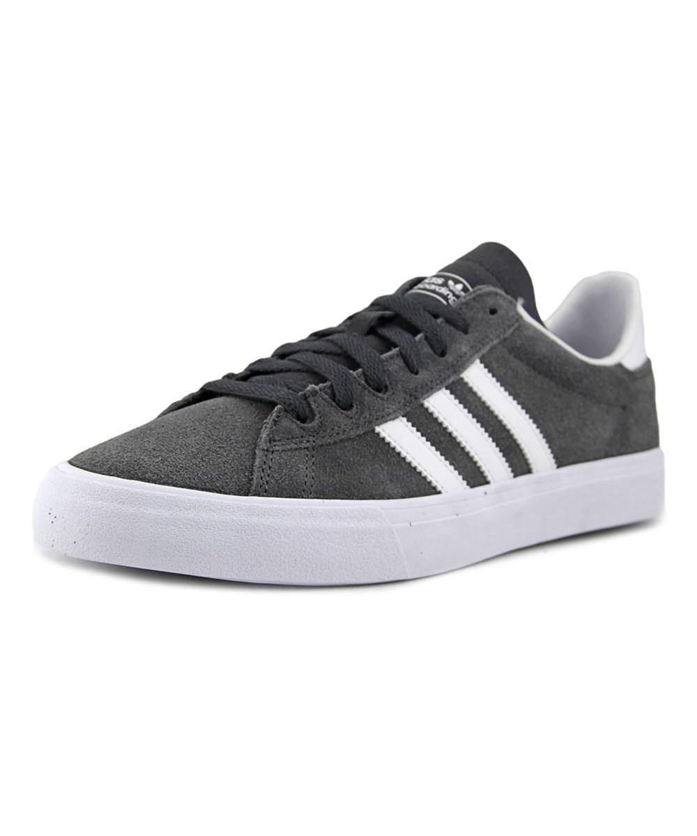 official photos 9745f 72912 ... coupon codes Lyst - Adidas Campus Vulc Ii Adv Men Round Toe Suede Gray  Skate Shoe ...