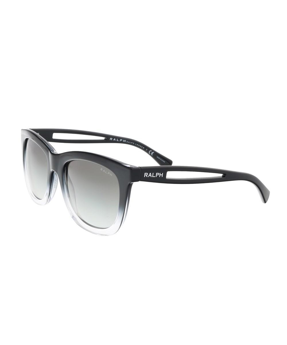 Ralph Lauren Ra5205 144811 Black Gradient Square Sunglasses in Black ... c891657233ca