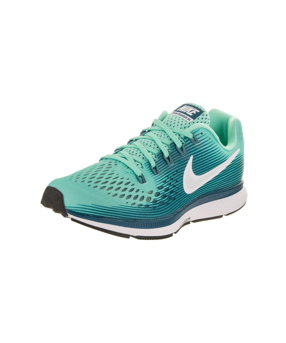 best service 4d8a1 21dcd Lyst - Nike Women s Air Zoom Pegasus 34 Running Shoe in White