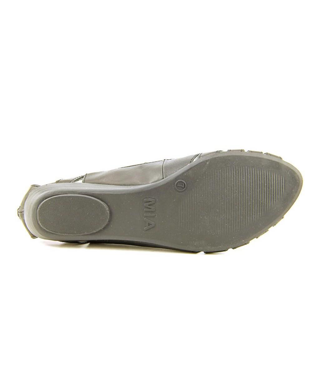 a7ea90a7da4 Lyst - Mia Damsel Women Open Toe Synthetic Gladiator Sandal in Black