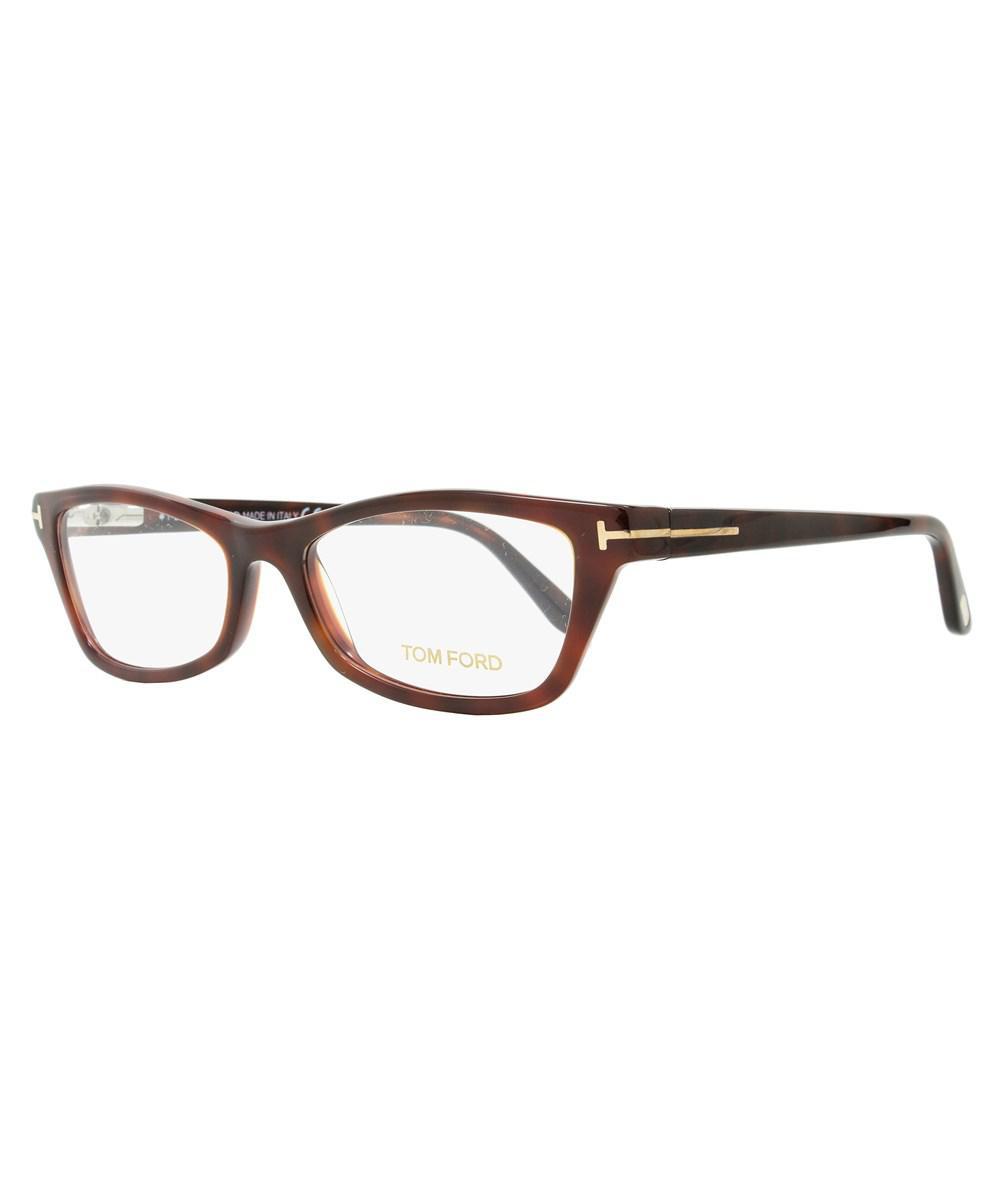 c7d796c6264 Lyst - Tom Ford Rectangular Eyeglasses Tf5265 052 Size  53mm Dark ...