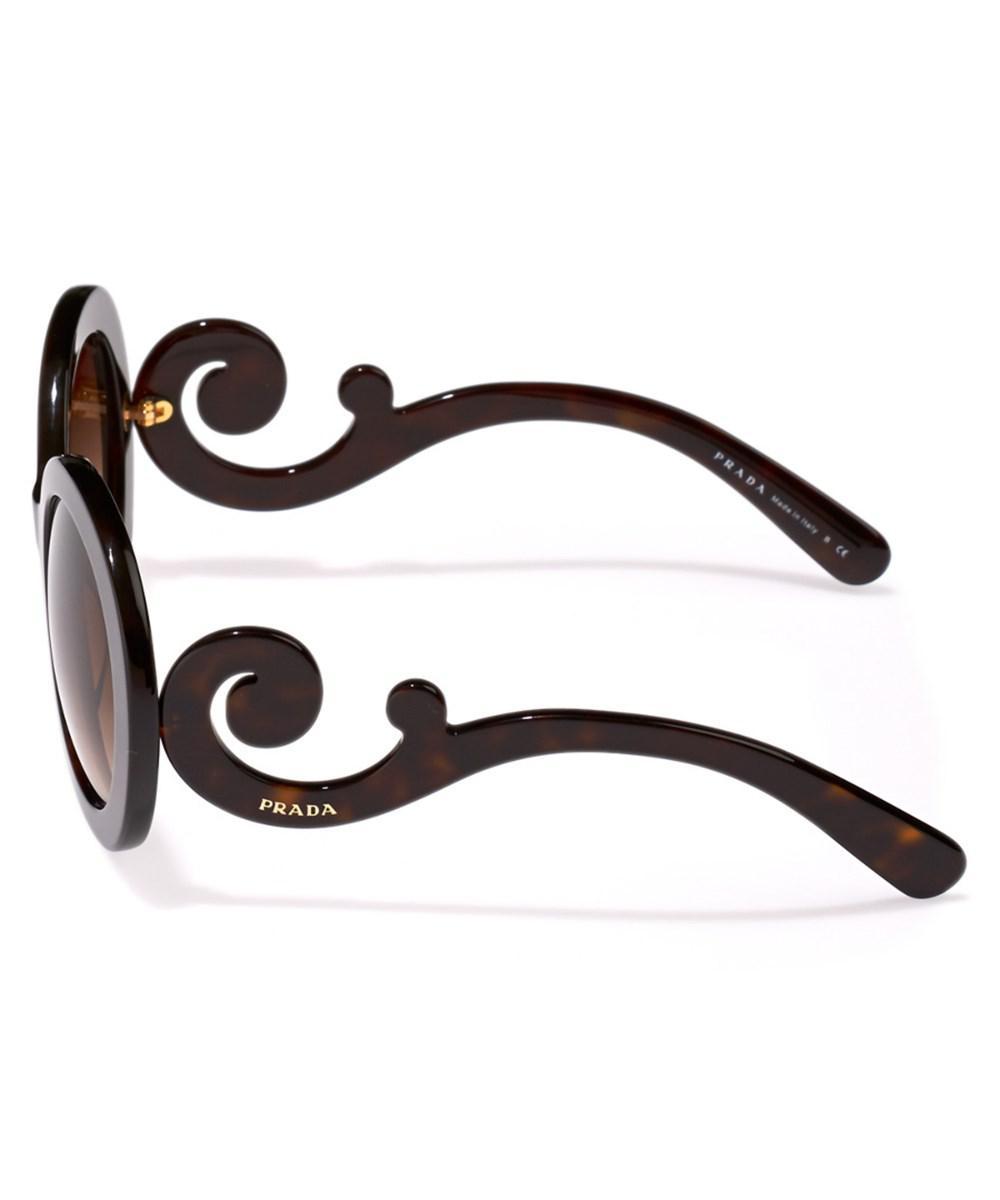 51dcf065ae ... ireland lyst prada womens minimal baroque pr 27ns sunglasses cdc33 8bd03