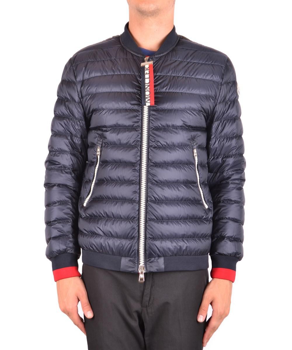 2ca8b27ff Lyst - Moncler Men s Blue Polyamide Down Jacket in Blue for Men