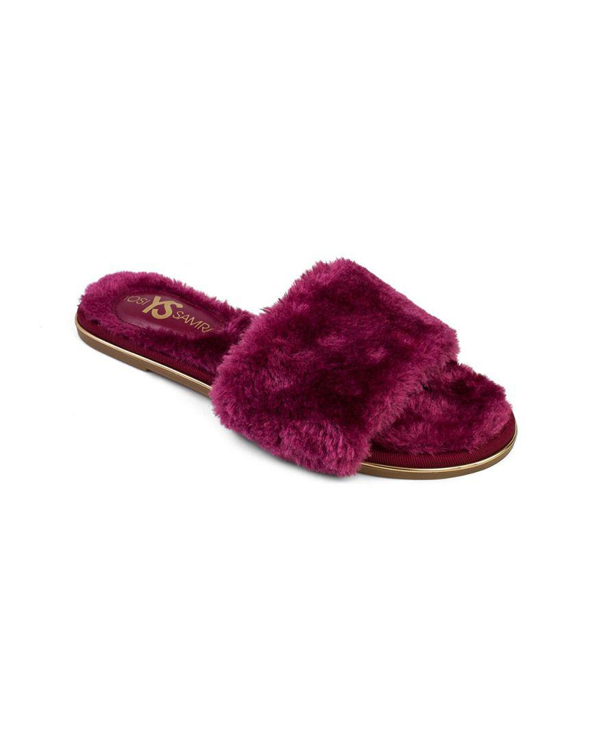 c73ba5e5a965 Lyst - Yosi Samra Sandrine Slipper in Pink