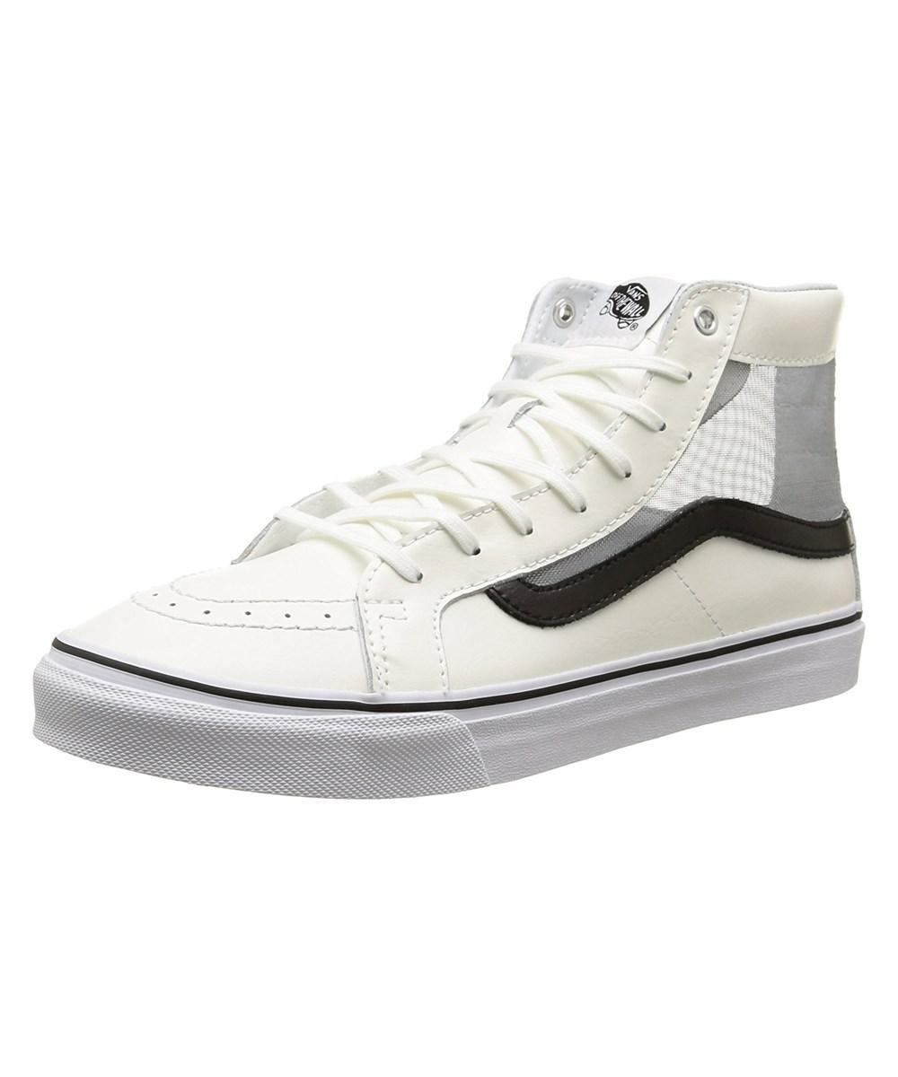 b735a80b57 Lyst - Vans Unisex Sk-8hi Slim Cutout (mesh) Skate Shoe in Black for Men