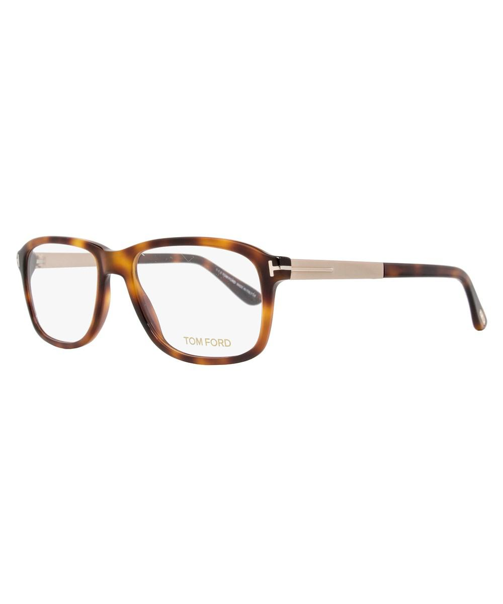 811a9e4e2f Lyst - Tom Ford Rectangular Eyeglasses Tf5352 052 Size  54mm Rose ...