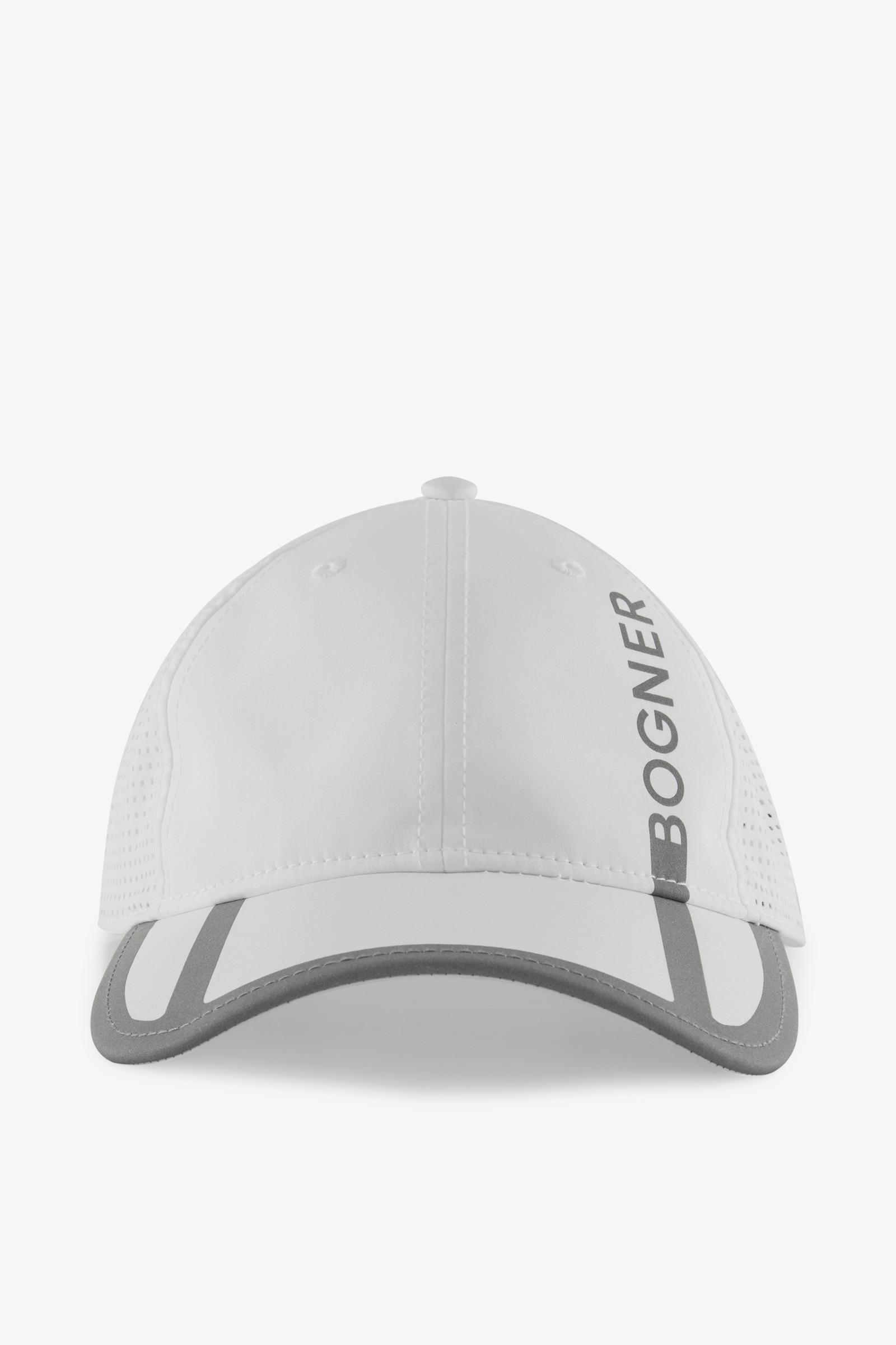 84f9ef3457c Lyst - Bogner Samy Cap In White in White for Men