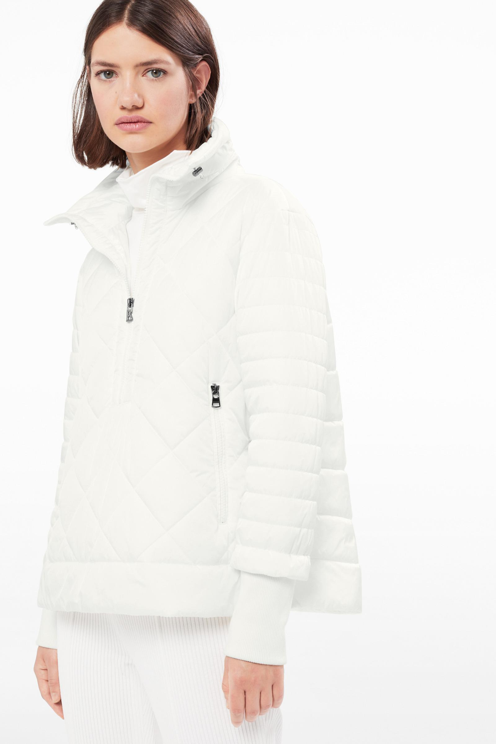 Bogner Casca Quilted Jacket In Off White in White - Lyst 800ae44eb