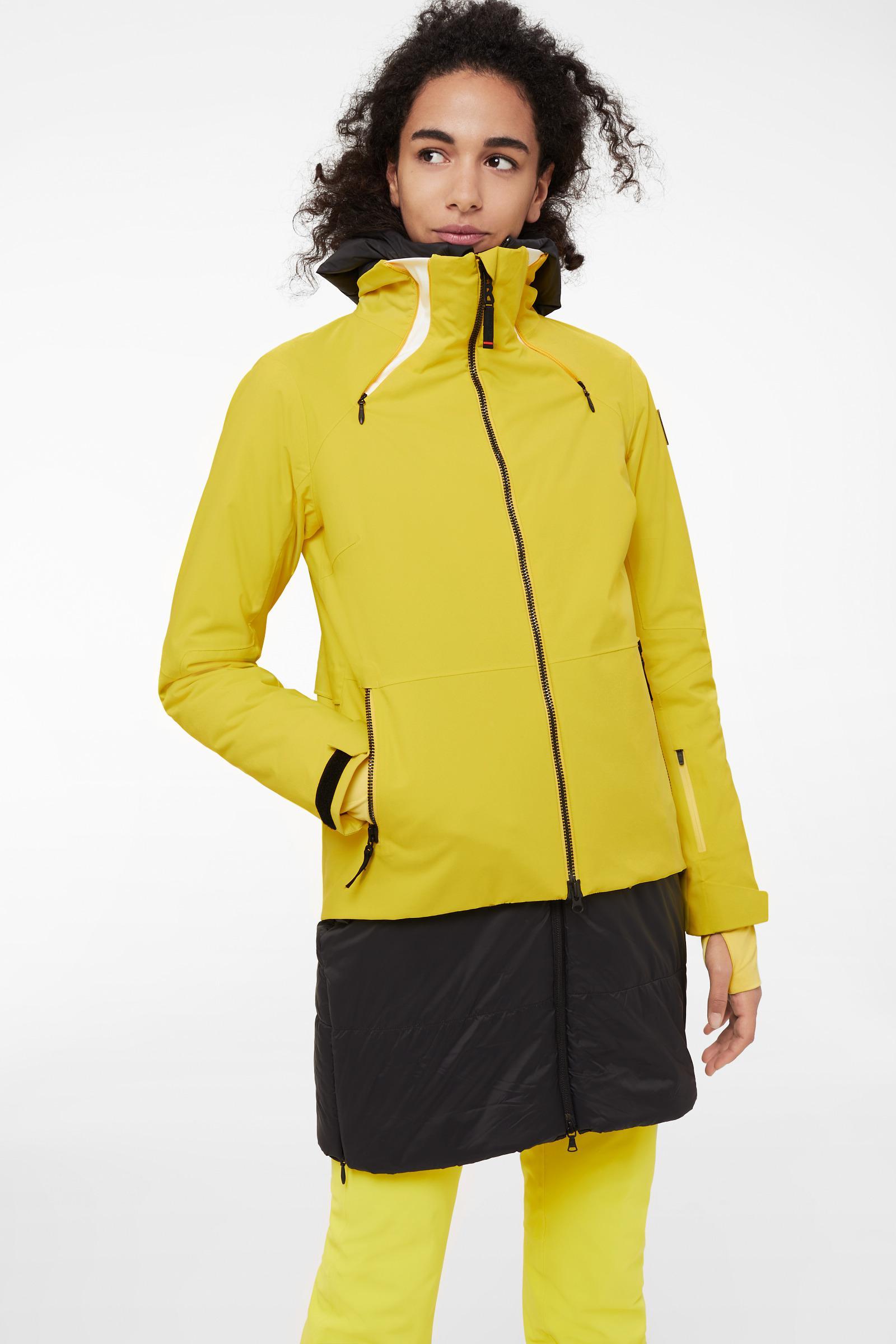 Bogner Danja Ski Jacket In Yellow in Yellow - Lyst 29454e75c